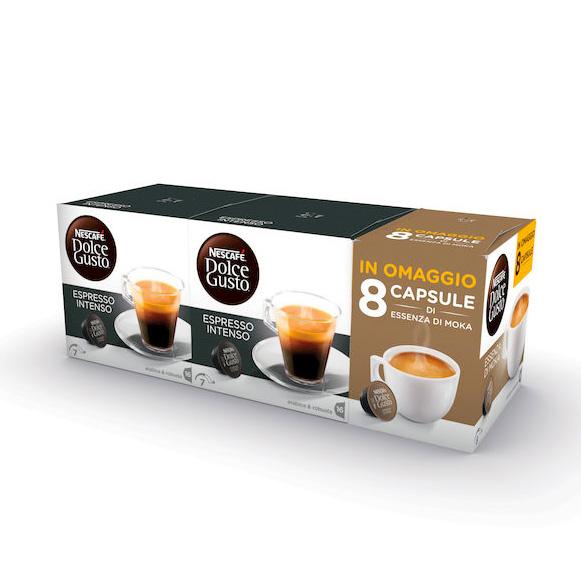 32 capsule espresso intenso nescaf dolce gusto 8 in omaggio - Porta capsule nescafe ...